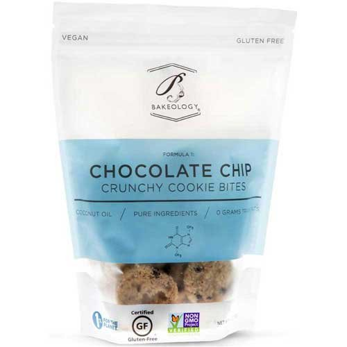 Bakeology Chocolate Chip Crunchy Cookie Bites, 6 Ounce - 12 per case.