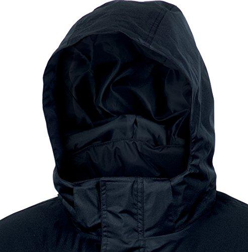 Delta Plus–Parka Edson Pongee en PVC Noir Taille–L