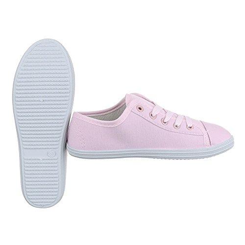 Zapatillas de Ital Mujer casa Design Rosa S4ppq5nwx