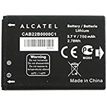 Simply Silver - New OEM Alcatel One Touch 2010D 750mAH Battery CAB22B0000C1