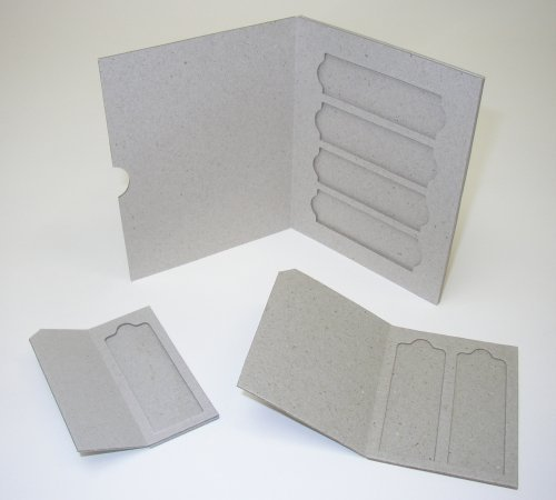 C&A Scientific Slide Mailers, Solid Cardboard, Double (1,000 Pieces/ Case) by C & A Scientific