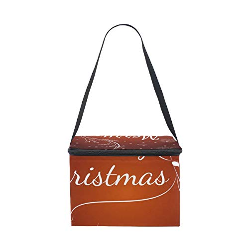 Pop Up Christmas Tree Meal package thermal bags Outdoor Picnic Meal Packagey