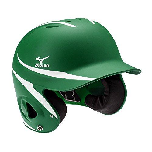 Mizuno MVP Batter's Helmet, Forest/White, Large/Extra Large