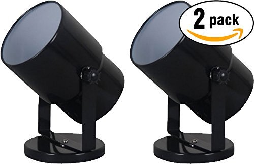Mainstays 7.5' Spotlight Accent Lamp, Black Finish (Pack of 2)