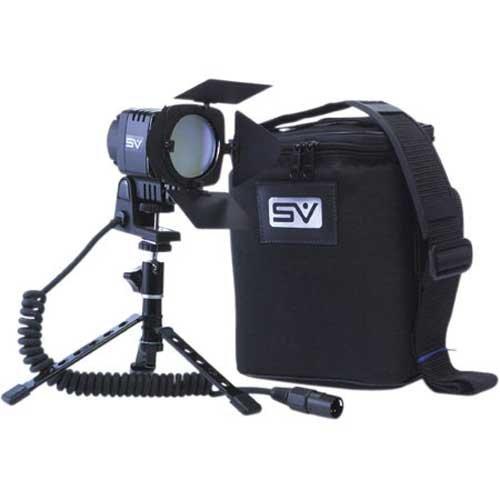 smith-victor sv-950、面接DC onカメラビデオライトキットバッテリーと充電器   B000F0J5ME