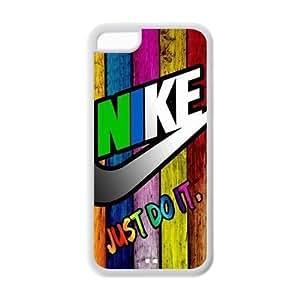 JUST DO IT Wood Pattern Michael Jordan Kobe Hot TPU iPhone 5C Case Back Cover