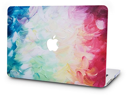 KEC MacBook Pro 13 Case 2017 & 2016 Plastic Hard Shell Cover