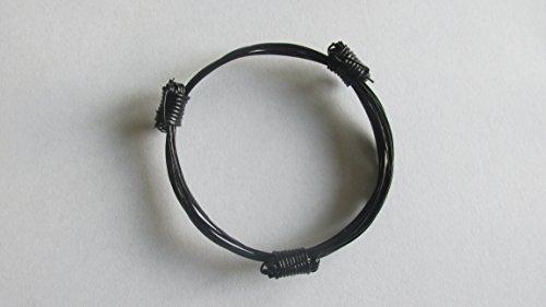 3 Knot Genuine Elephant Hair Bracelet