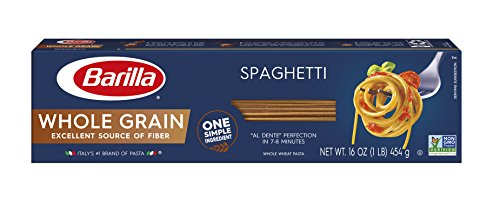 Barilla Whole Grain Pasta, Spaghetti, 16 Ounce