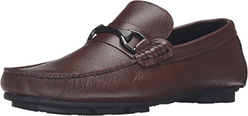 Bugatchi Mens Monza Driver Slip-on Loafer Mogano