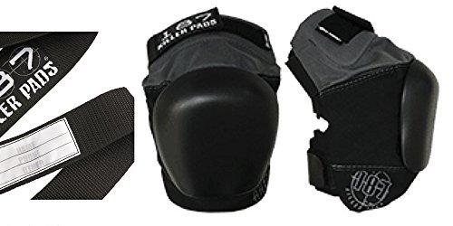 187 Killer Pads Pro Derby Knee Pad Grey-Black (Large)
