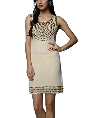 Beaded Short Embellished Roaring 20s Themed Party Dresses Outfits Clothes Attire (Roaring 20s Attire)