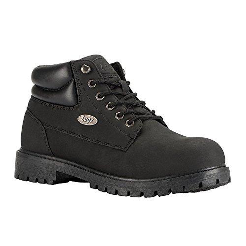 Lugz Men's Nile Mid Fashion Boot, Black Durabrush, 13 D US by Lugz