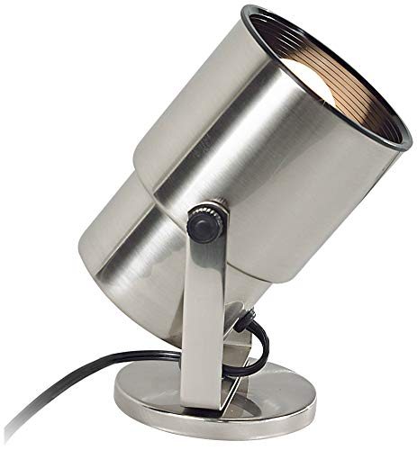 Pro Track Brushed Nickel 8'' High Accent Uplight - Pro Track by Pro Track (Image #1)'
