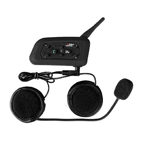 Sets 1200M 6 Riders Interphone Bluetooth Motorcycle Helmet Intercom Headset - 5