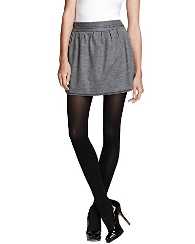 Diane von Furstenberg Women's Addie Skirt, Heather Grey, 12 ()