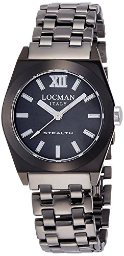 LOCMAN watch stealth Lady Quartz Ladies 0204 0204GUGYFNK0BRA Ladies