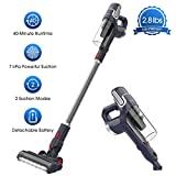 NOVETE Cordless Stick Vacuum, Ultralight 2-in-1 Cleaner with 2 Suction Modes, 7 kPa