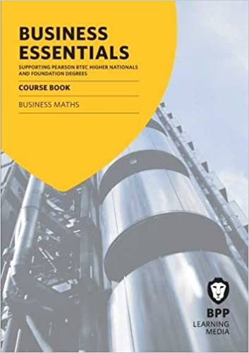 Business Essentials Business Maths: Study Text