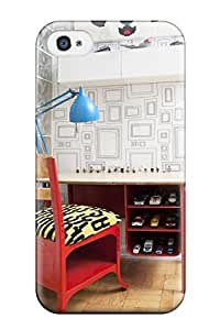 Excellent Design Child8217s Playroom With Vintage Red Desk Case Cover For Iphone 4/4s