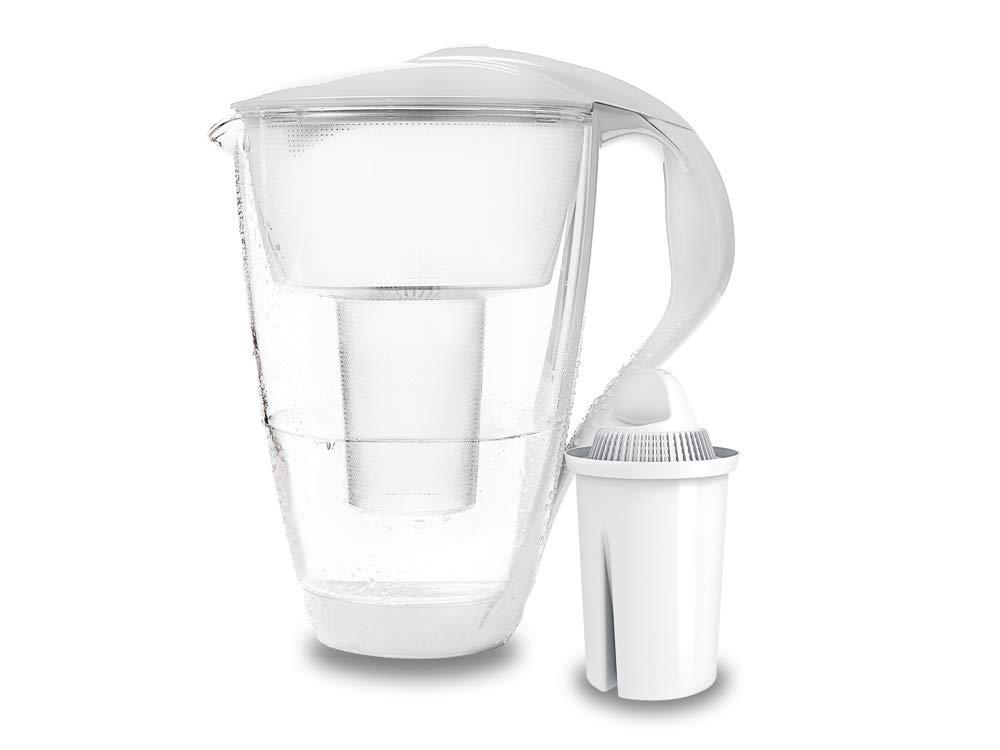 PearlCo Glas-Wasserfilter (weiß)