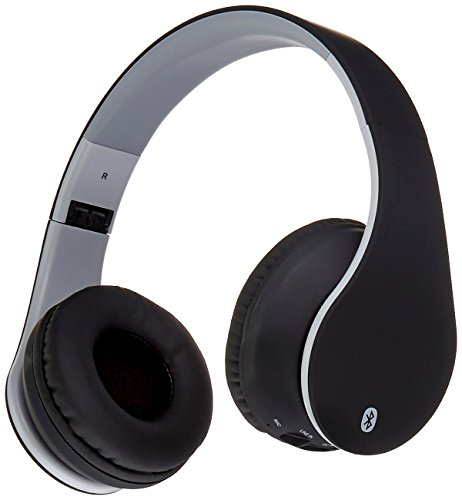 ILIVE IAHB64MB Bluetooth Headphones with Auxiliary Input (Matte Black)