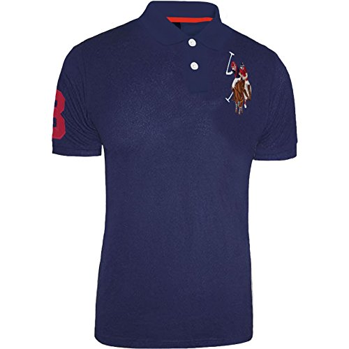 ed00a1b3f U.S.POLO ASSN. Mens US Polo ASSN T-Shirt Coloured Pony Original Shirt Top  Short Sleeve Cotton - Buy Online in UAE. | Clothing Products in the UAE -  See ...