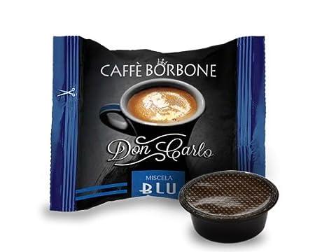 Cápsulas de café Don Carlo de Caffè Borbone, azul, compatibles con ...