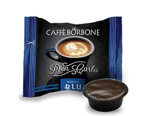 Caffè Borbone - Cápsulas de café Don Carlo, azul, compatibles con ...