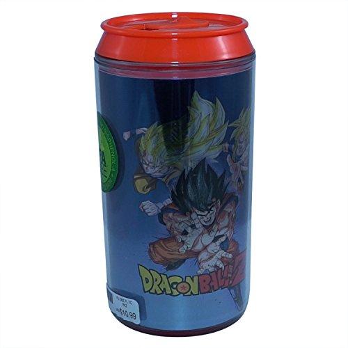 Official Dragon Ball Z, Super Saiyan Goku Kamehaha Blue colored Travel Can/Mug/ Cup GIFT 10 oz ()
