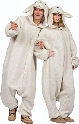 RG Costumes Men's Ollie The Sheep, White One -