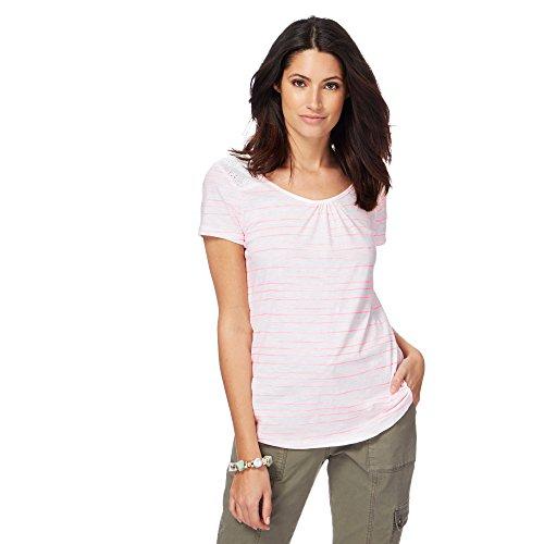 Debenhams Damen T-Shirt weiß weiß 36