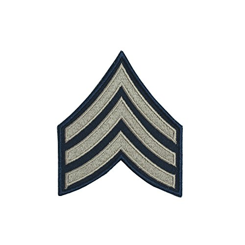 Sergeant Rank Military (Reproduction World War 2 US Army Khaki Rank Patch (Sergeant))