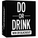 Do or Drink Game - Drinking Cards - Fun & Dirty Adult, Dare or Shots for College, Camping, 21st Birthday Night, or Pregame Pass Out Party - Funny & Beyond for Men & Women