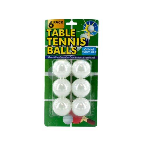 24パックのテーブルテニスボール B004WQUK4Y