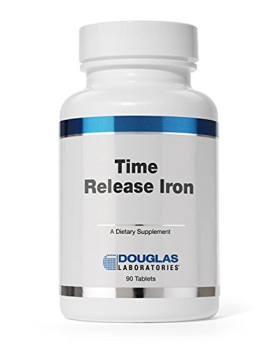 Douglas-Laboratories-Timed-Released-Iron-Helps-Support-Anemia-Lethargy-Tiredness-Red-Blood-Cell-Production-and-Oxygenation-90-Tablets