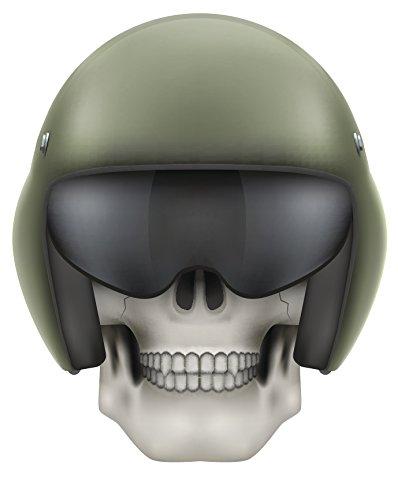 Green Icon Helmet - 3