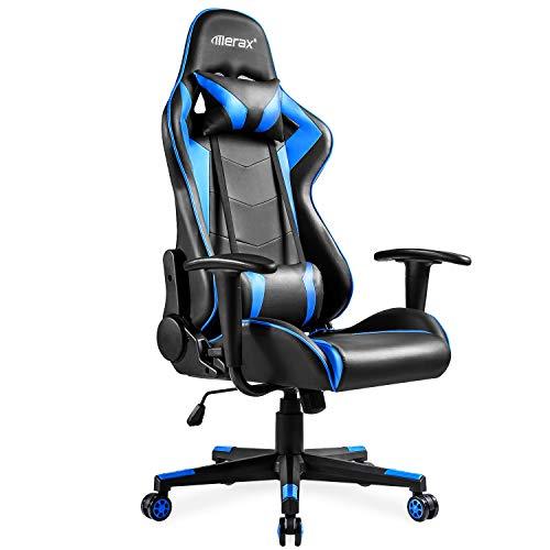 Merax High-Back Gaming Chair Ergonomic Design Office Chair R