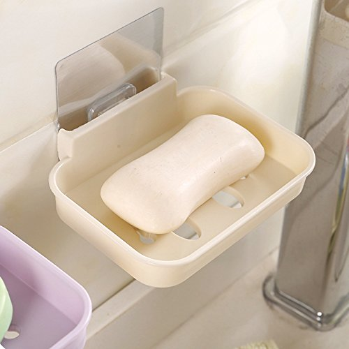 Janitorial & Sanitation Supplies - Bx-084 Bathroom Soap Dish Sink Sponge Holder Magic Sticker Waterfall Soap Dish - Lavatory Lather Peach Toilet Saucer Bath Bag Lav Looker John Serve - 1PCs Stone Lav Sink