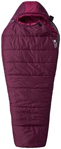 Mountain Hardwear Bozeman Torch Sleeping Bag - Women's Dark Raspberry Regular Left Handed Mountain Hardwear Womens Sleeping Bag