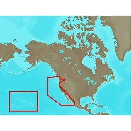 Amazon.com: C-Map Max Na-M024 - U.S. West Coast & Hawaii ...