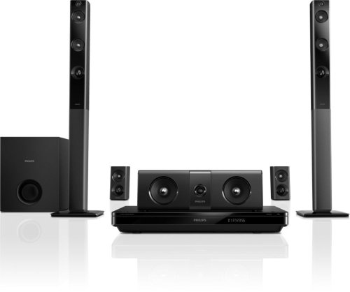 Best price for Philips HTB5544D/F7 Home Theater with Tall Boy Speakers (Black)