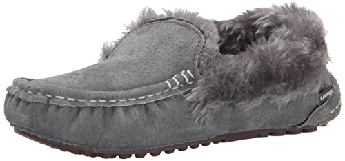 On Charcoal Ausie Moc Lamo Slip Women's Loafer Iw81n6Yx
