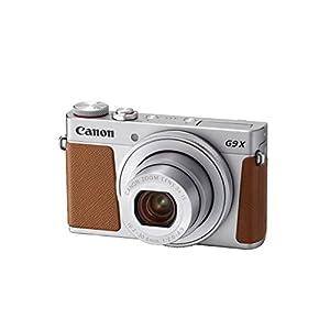 Canon 2422H63 PowerShot G9 X Mark II Digital Camera – Silver