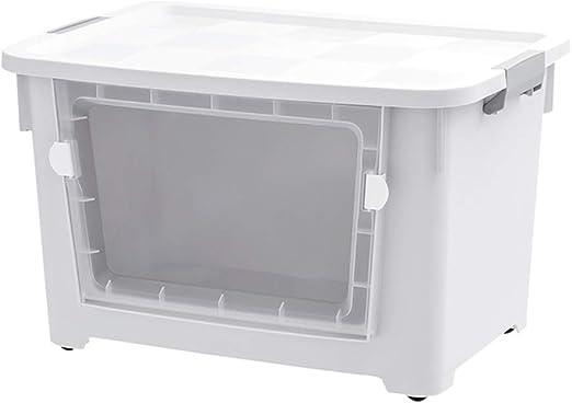 Caja De Almacenamiento De Plástico Abierta Frontal Extra Grande ...