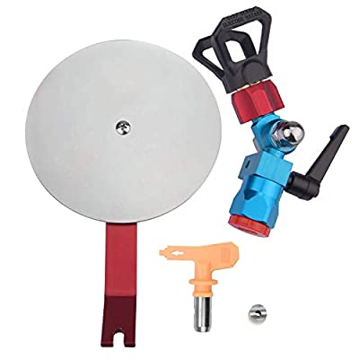"""DUSICHIN DUS8325 Spray Guide Accessory Tool for All Airless Paint Sprayer 7/8"""" w/ 517 Tip 10 Inch Extension Pole"""