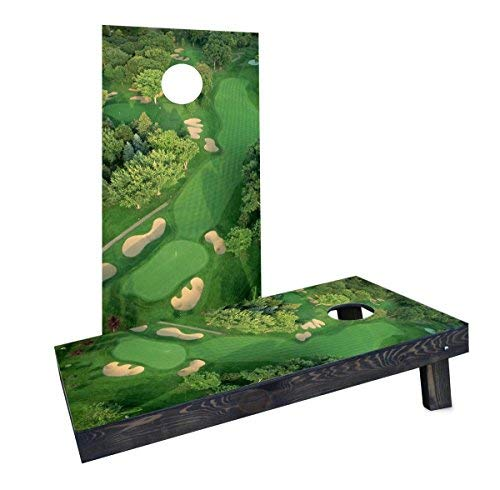 【最安値に挑戦】 Custom Cornhole Boards Cornhole Incorporated CCB176-AW Golf Course Cornhole Flyover Cornhole [並行輸入品] Boards [並行輸入品] B07HLHGT9B, 車パーツの応援団:2204dc0e --- arianechie.dominiotemporario.com