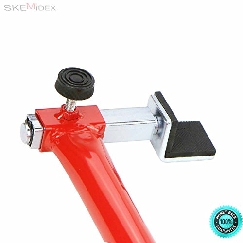 SKEMiDEX--- (1) Motorcycle Stand Bike Swingarm Lift Combo Shop Front Rear Portable Auto New Ideal to lift motorcycle bike front end Easy to assemble Raise the motorcycle by the forks by SKEMiDEX