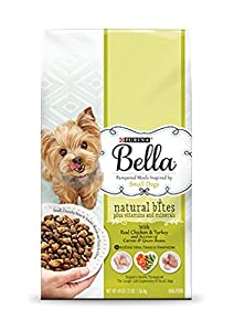 Purina Bella Pampered Meals Inspired by Small Dogs-With Real Chicken & Turkey and Accents of Carrots & Green Beans (3LB Bag)