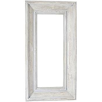 Amazon.com: Household Essentials Decorative Rectangle Wall Mirror ...